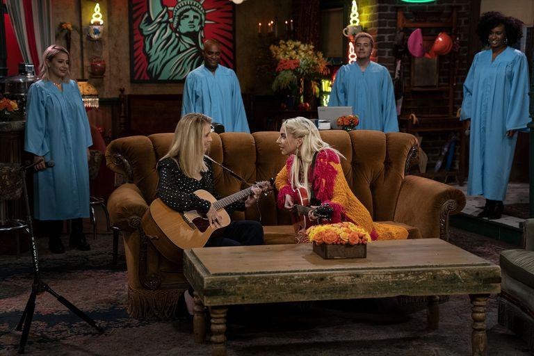 Lady Gaga Berpartisipasi di Friends Reunion Untuk Menyanyikan Sebuah Lagu