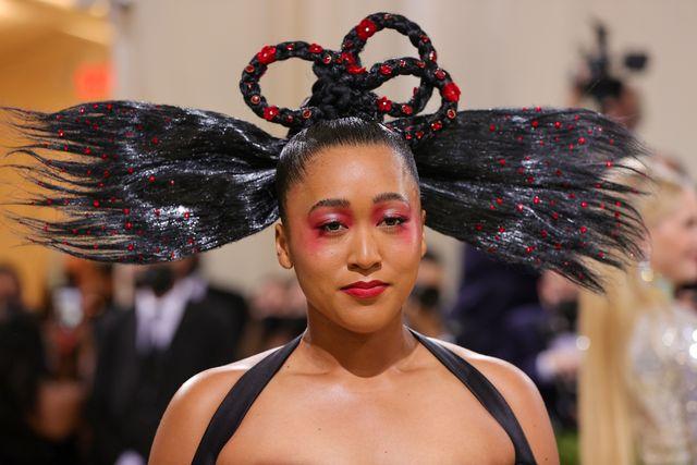 Naomi Osaka Seolah Beri Penghormatan Kepada Leluhurnya, Lewat Tampilannya di Met Gala dengan Louis Vuitton