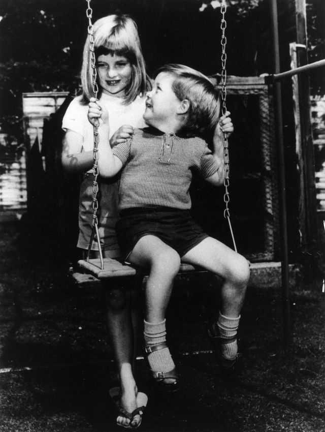 Putri Diana dan Charles Spencer pada 1967