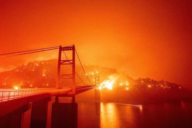 Kebakaran di California, September 2020