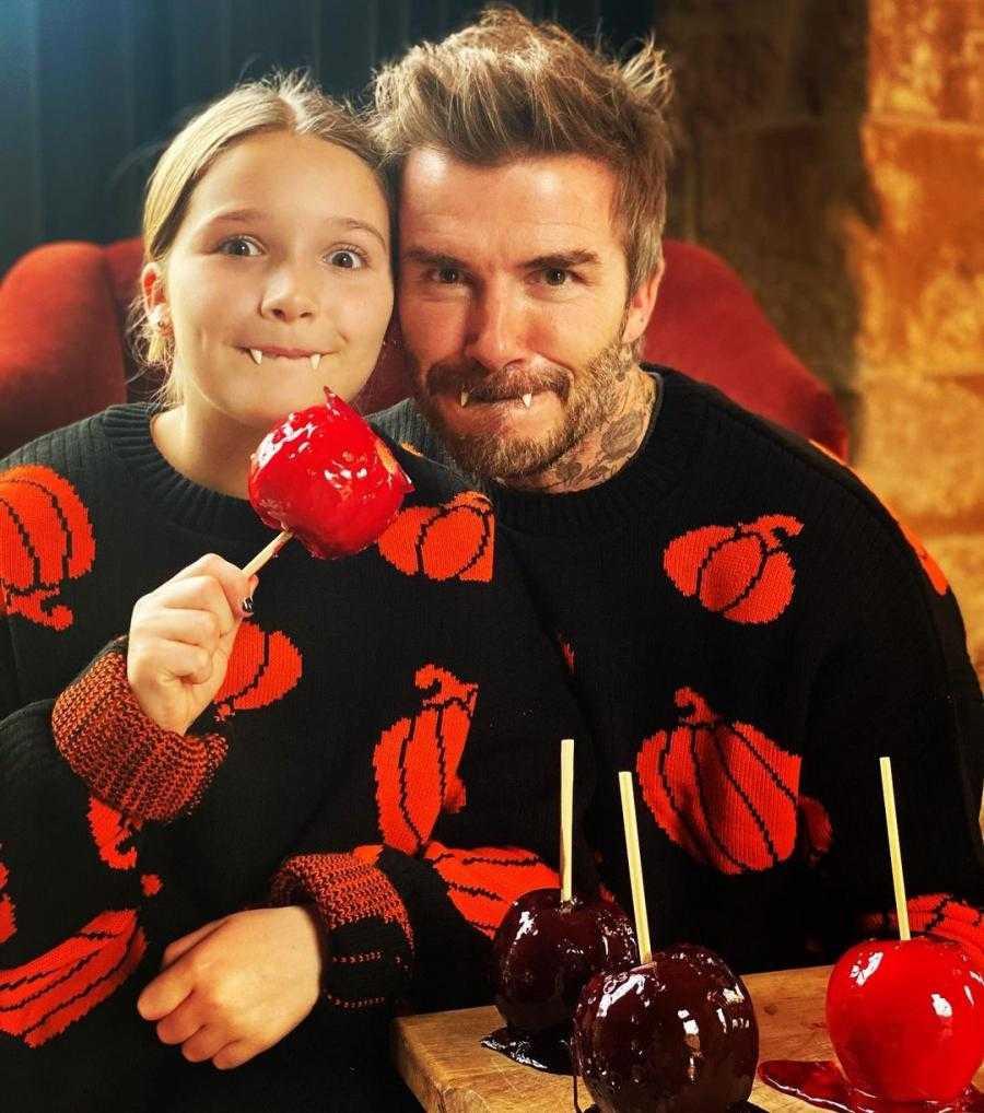 Baju Kembar David Beckham Dengan Sang Putri, Harper Merayakan Halloween 2020