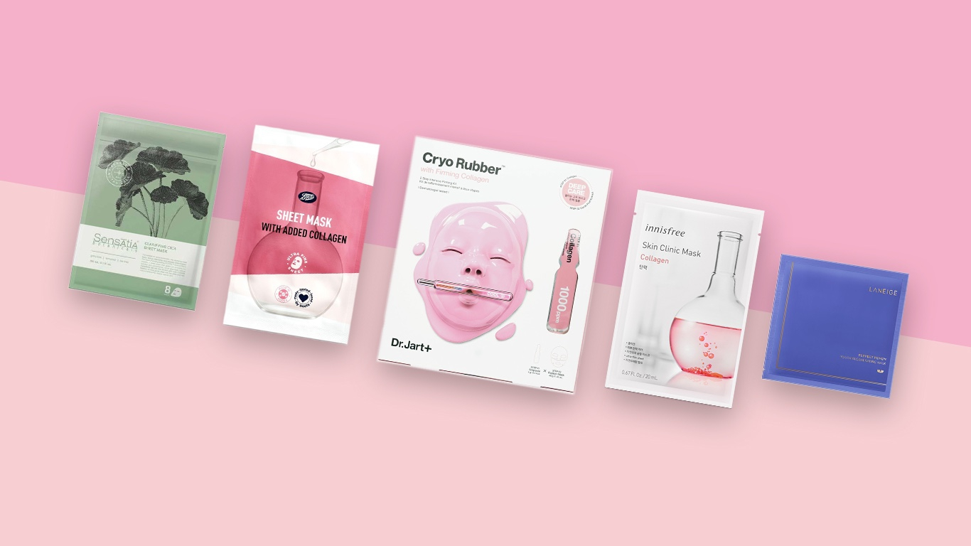 10 Masker Kolagen yang Membantu Tampilan Kulit Jadi Lebih Awet Muda