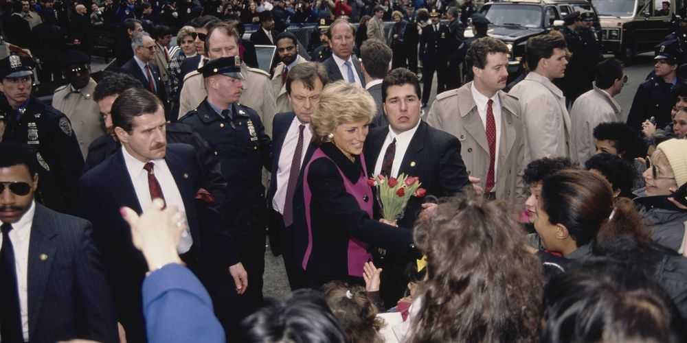 Foto-Foto Nostalgia Tur Putri Diana di Kota New York Tahun 1989