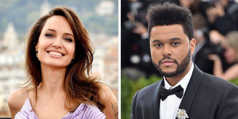 Angelina Jolie dan The Weeknd Tertangkap Sedang Makan Malam di Giorgio Baldi