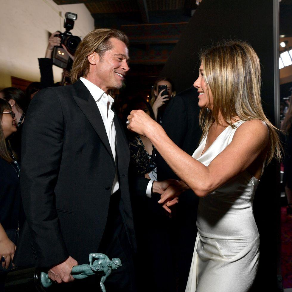 Intip Reuni Brad Pitt & Jennifer Aniston di SAG 2020