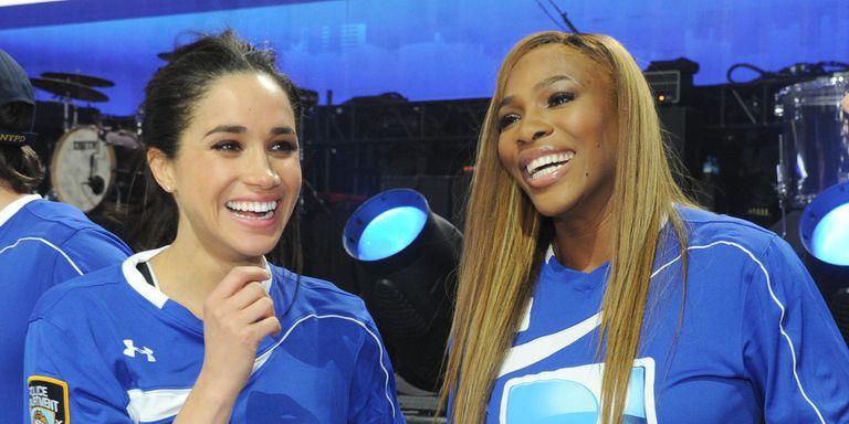 Serena Williams Bergurau Bahwa Ia Tidak Kenal Meghan Markle