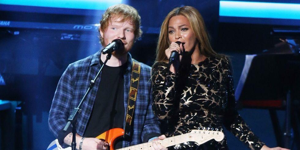 Beyonce Berduet Dengan Ed Sheeran