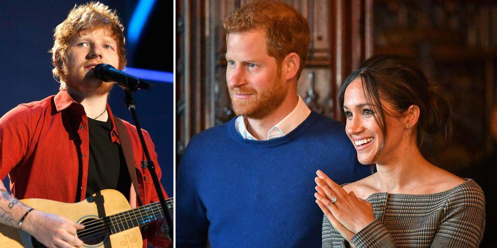 Ed Sheeran Sebagai Wedding Singer Harry dan Meghan?
