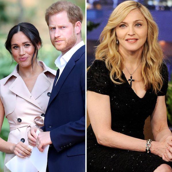 Madonna Tawarkan Apartemen ke Meghan Markle & Pangeran Harry