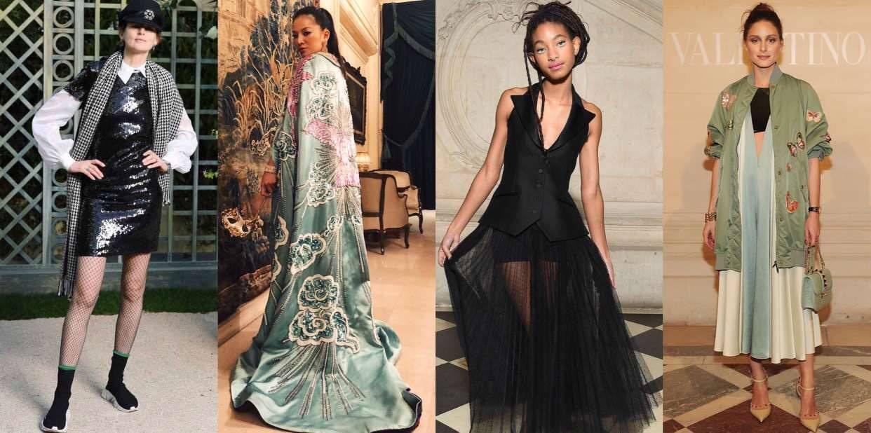 The Style: Gaya Selebriti di Paris Couture Week 2018