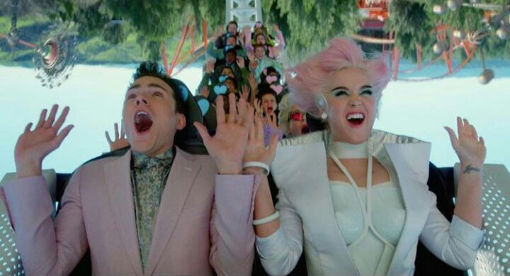 Desain Rinaldy A. Yunardi Untuk Video Klip Katy Perry
