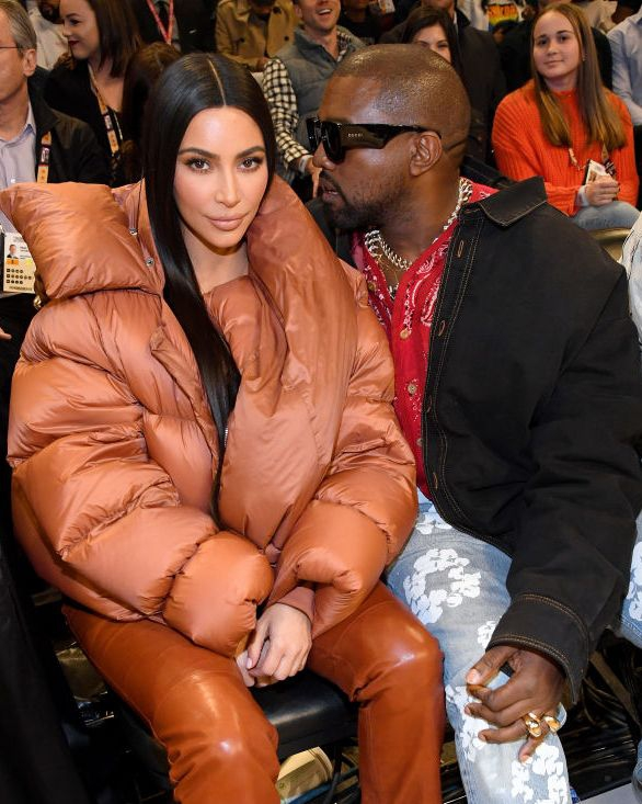 Kim Kardashian West Tampak Keren di All-Star Game NBA 2020