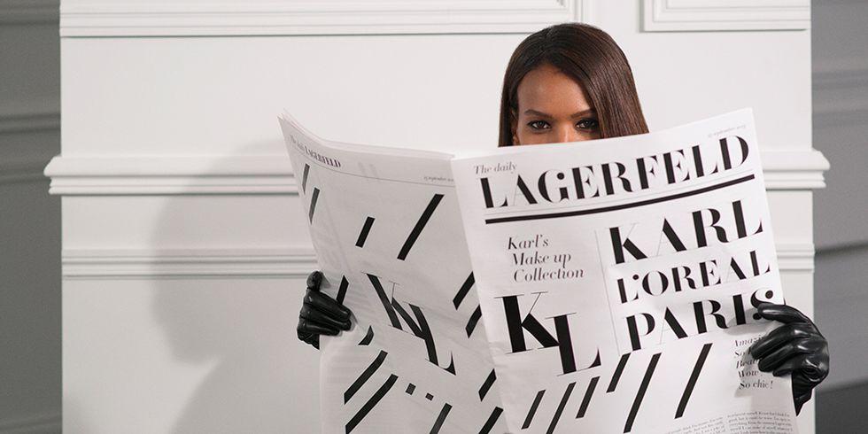 L'Oréal Paris dan Karl Lagerfeld Meluncurkan Lini Kosmetik