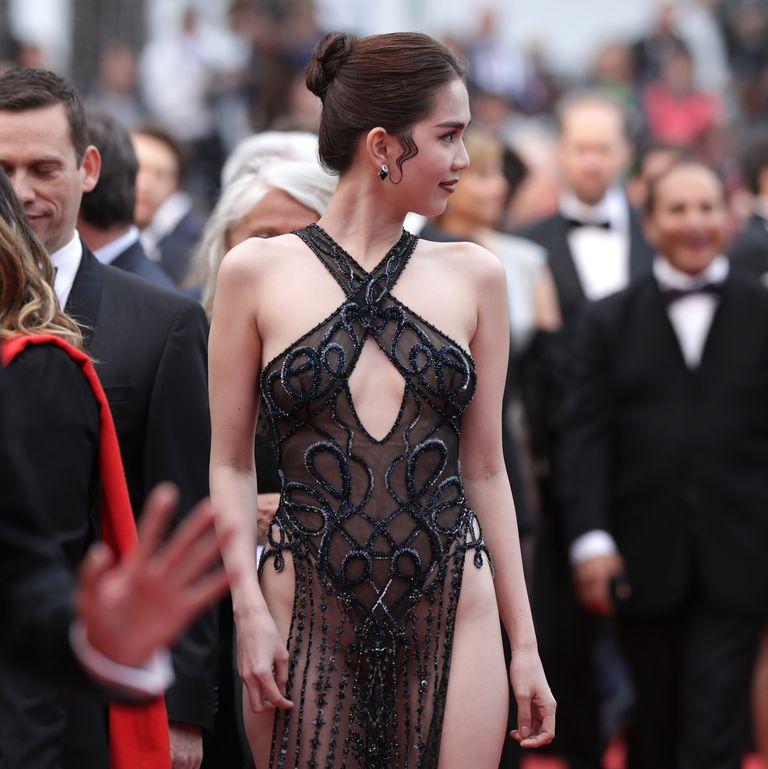Model Vietnam Ini Bisa Didenda Karena Gaun Sensual di Cannes
