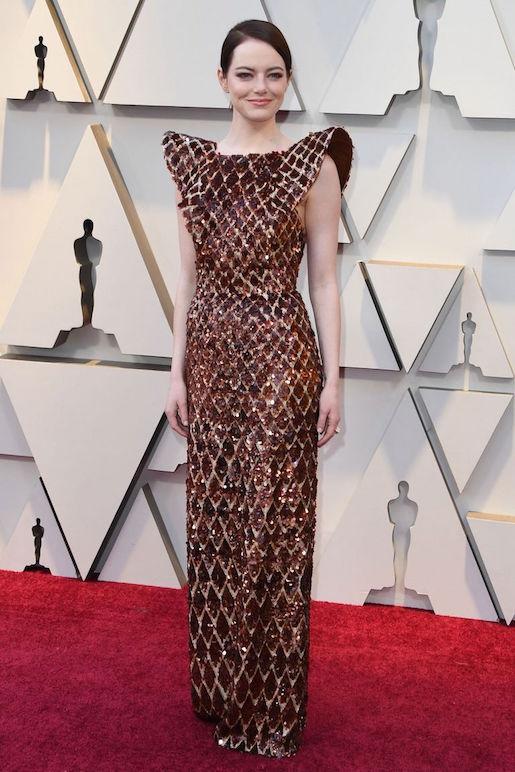 Gaun Oscar Emma Stone Membutuhkan Pengerjaan Selama 712 Jam