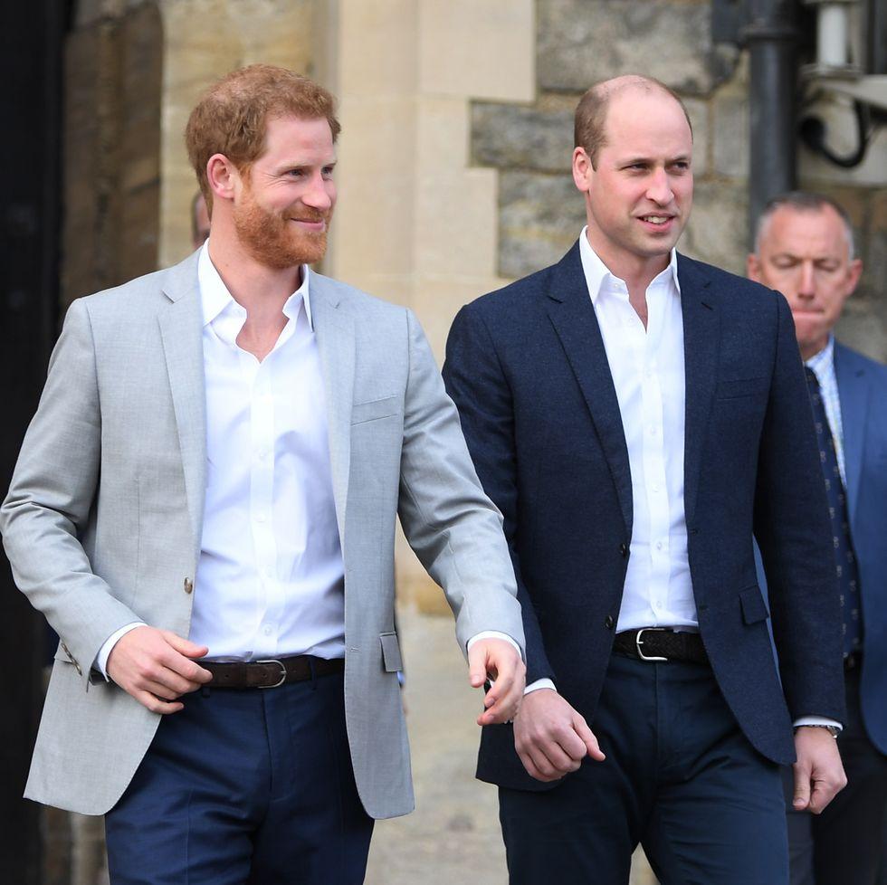Pangeran William & Pangeran Harry Bagi Dua Dana Warisan