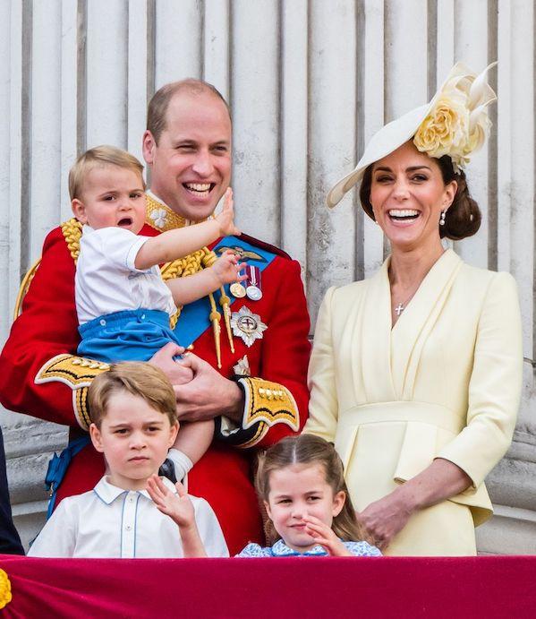 Kate & William Bagikan Foto Terbaru dari Pangeran Louis