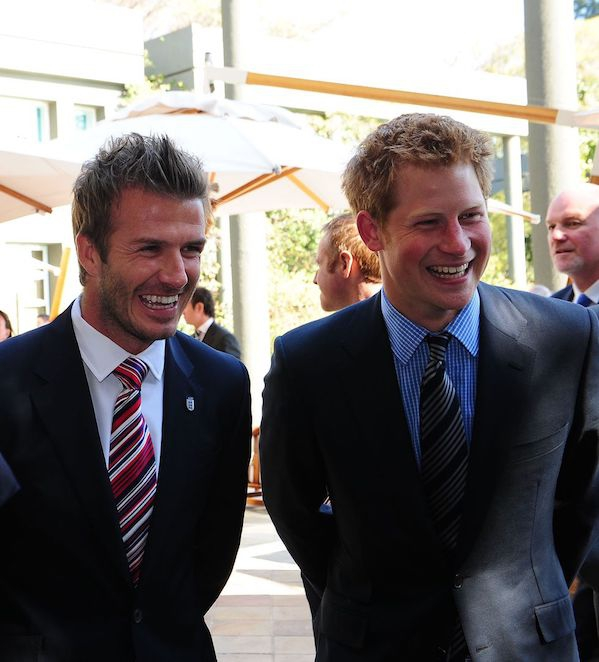 David Beckham: Pangeran Harry Adalah Ayah yang Luar Biasa!