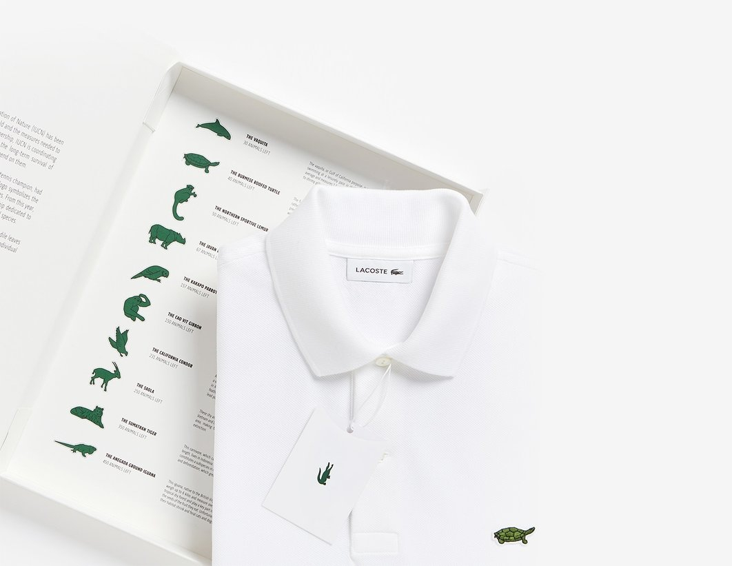 Harimau Sumatra Terpilih Sebagai Logo Baru Lacoste