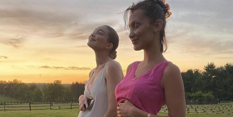 Foto Throwback Lucu Bella dan Gigi Hadid, Bandingkan Perut!
