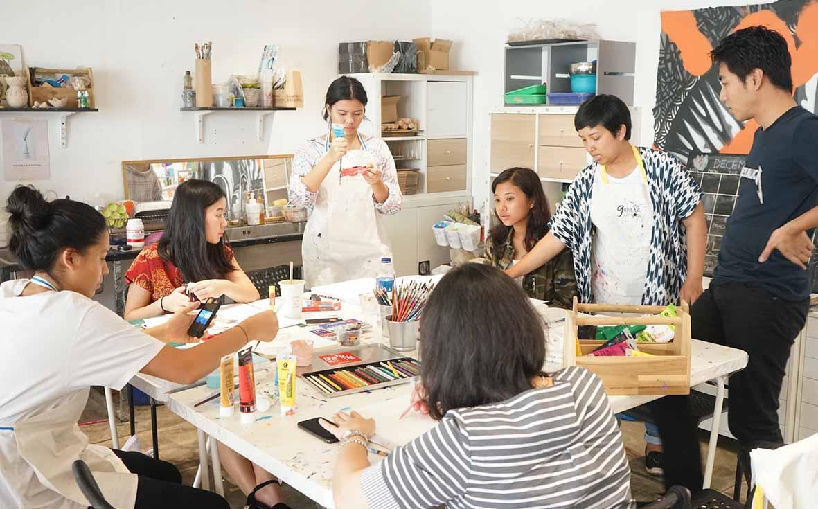 Melatih Insting Seni Lewat Workshop