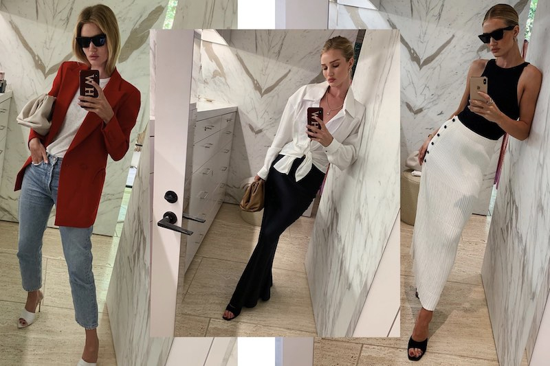 Tips OOTD Ala Model Rosie Huntington Whiteley
