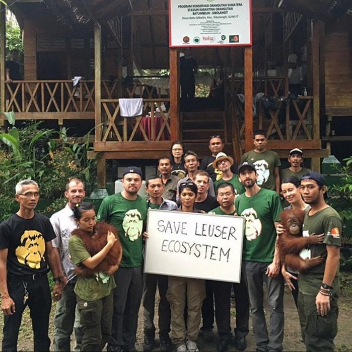 Misi Lingkungan Leonardo DiCaprio di Aceh