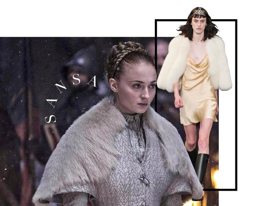 Tampilan Spring/Summer 2016 Inspirasi Karakter Game of Thrones