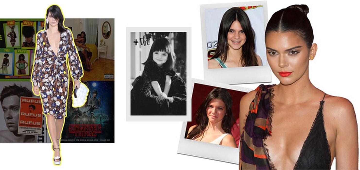 Evolusi Kendall Jenner