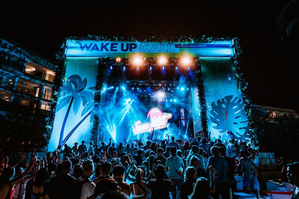 Wake Up Call: Festival Musik Internasional di W Bali