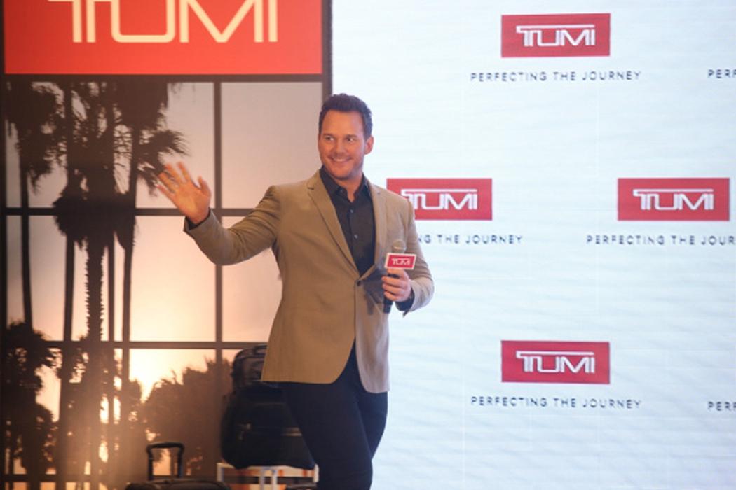 Melihat Chris Pratt Menjadi Wajah Baru Tumi di Hong Kong