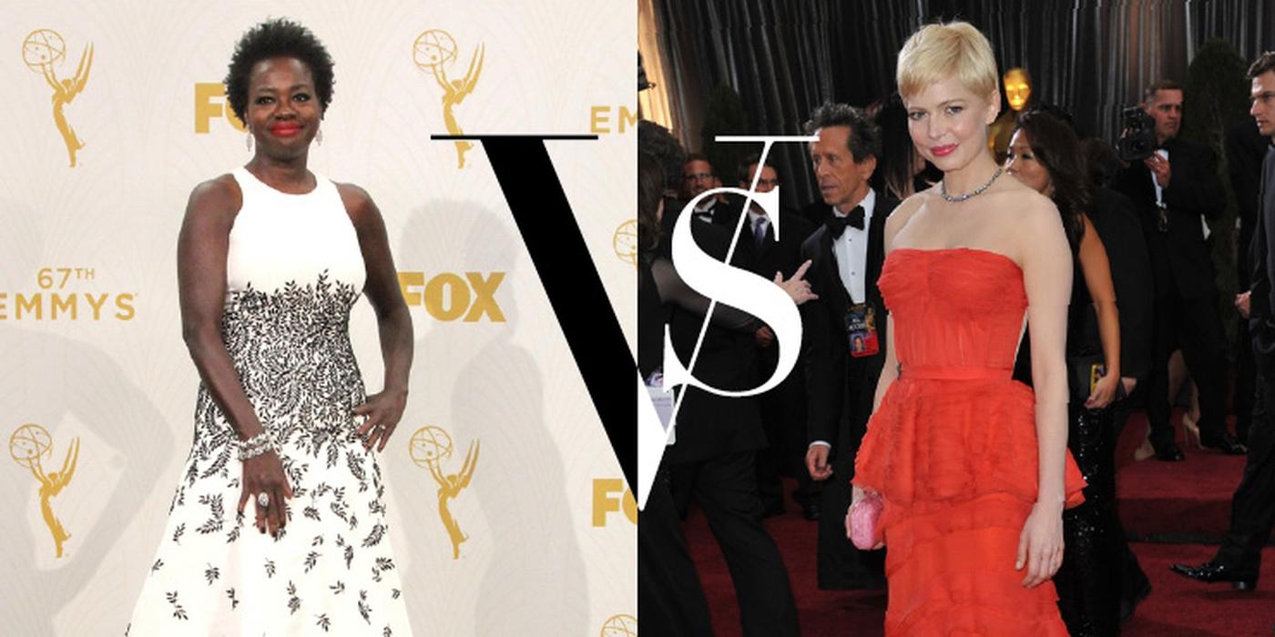 Michelle Williams vs Viola Davis Dalam Fashion