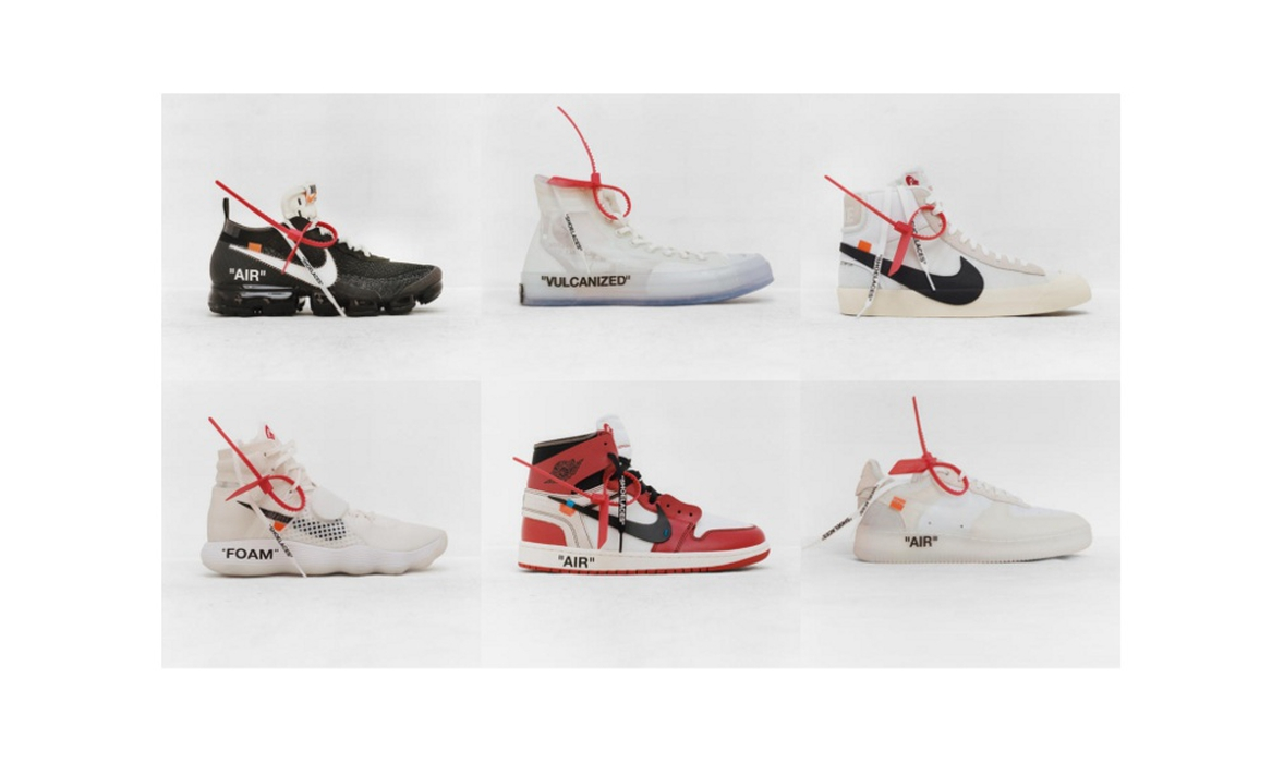 10 Sepatu Kolaborasi Nike dan Virgil Abloh