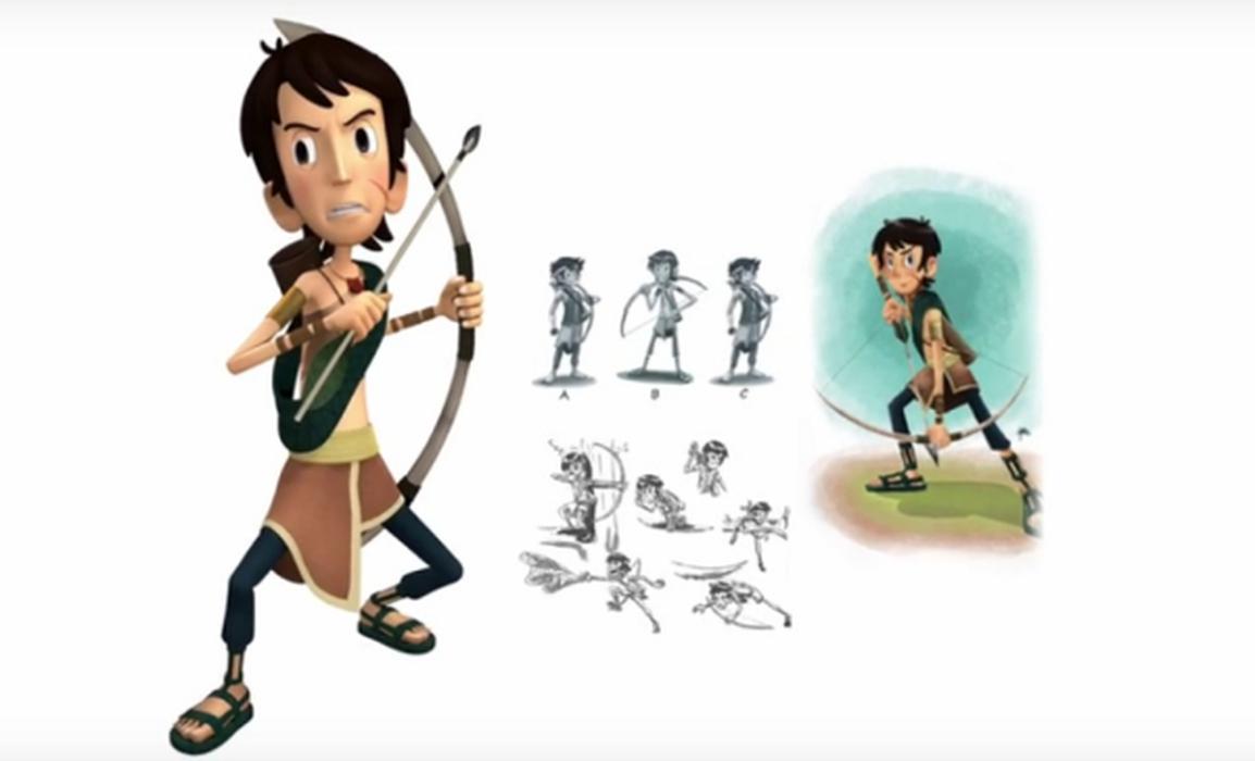 Film Animasi Produksi Pelajar Indonesia