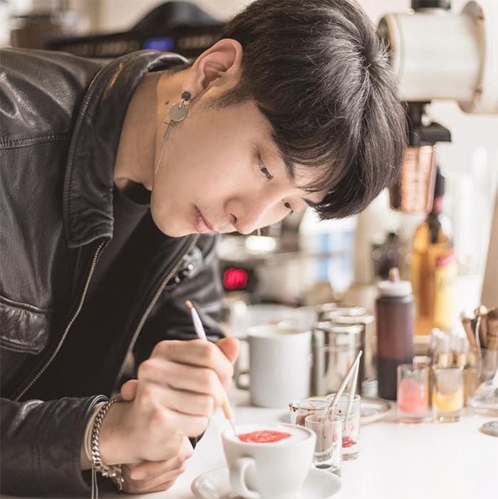 Lee Kang Bin, Barista Tampan Asal Korea
