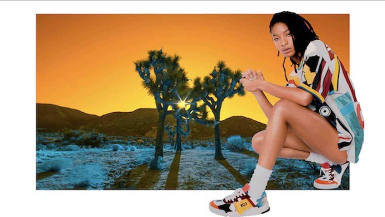 Onitsuka Tiger Tunjuk Willow Smith di Kampanye Terbaru