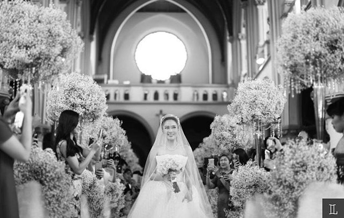 Momen Terbaik Pernikahan Sandra Dewi