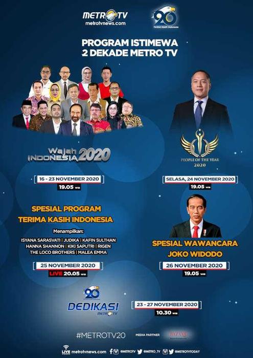 Program Istimewa 2 Dekade Metro TV