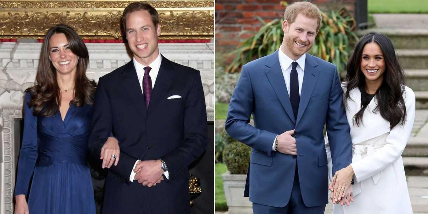 5 Perbedaan Momen Pertunangan William-Kate dengan Harry-Meghan