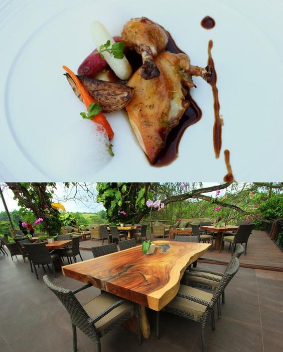 Rondji Restaurant: Kuliner di Museum Blanco Bali