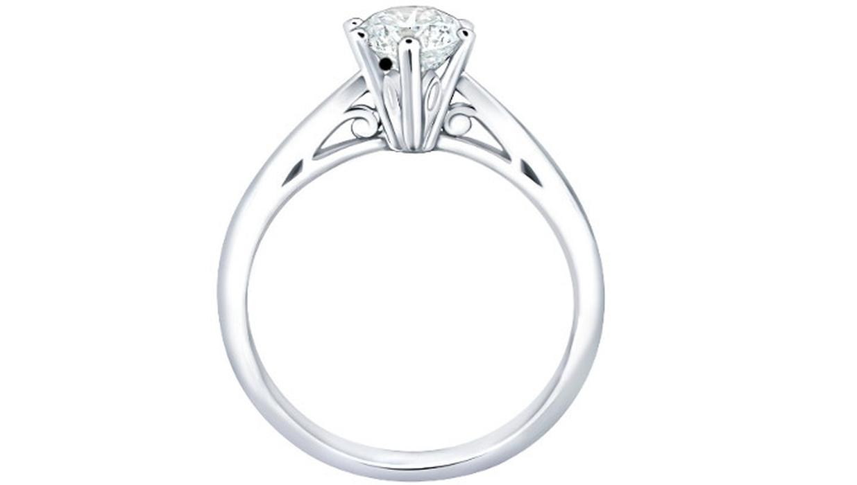 Desain Perhiasan Berlian Frank Fire dari Frank & co.
