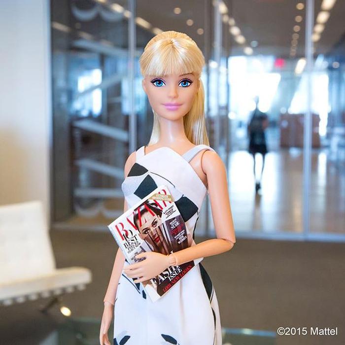 Pat McGrath Merias Barbie di Paris Fashion Week