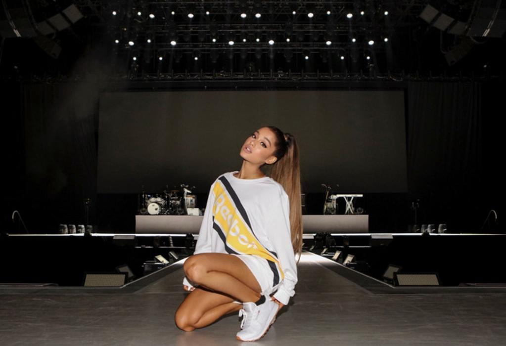 Kolaborasi Ariana Grande dan Reebok