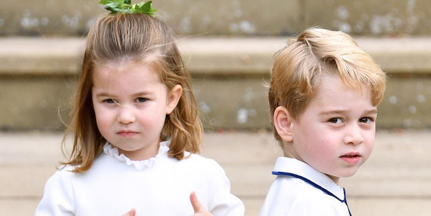 Kedekatan Hubungan Pangeran George dan Putri Charlotte