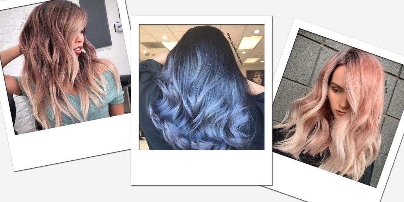 Warna Rambut Ombré yang dapat Anda Coba Tahun Ini
