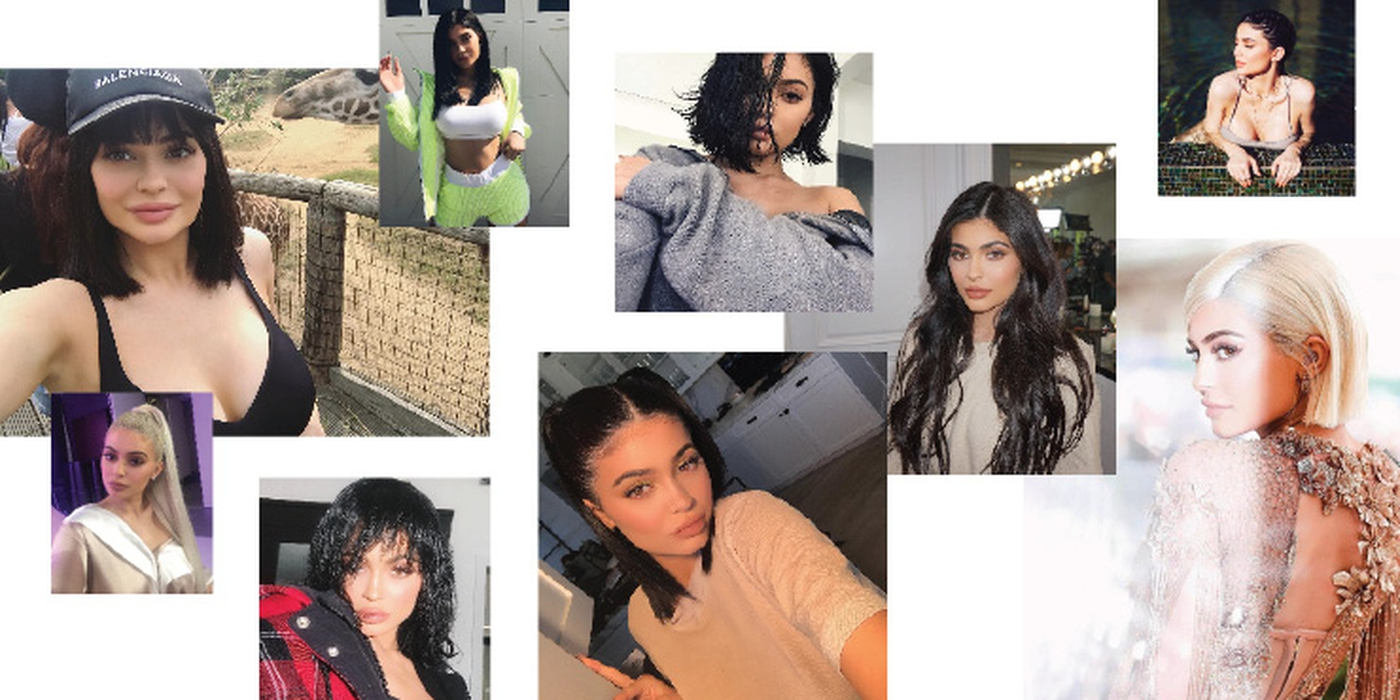 10 Ide Model Rambut dari Instagram Kylie Jenner
