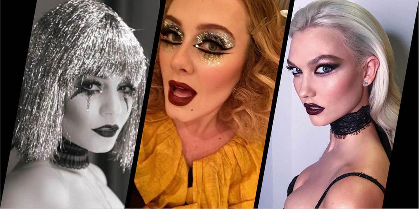 Intip Gaya Makeup dan Rambut Halloween Para Selebriti