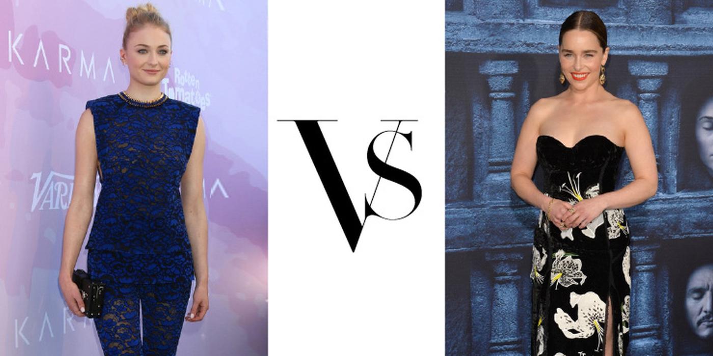 Emilia Clarke vs Sophie Turner Dalam Fashion