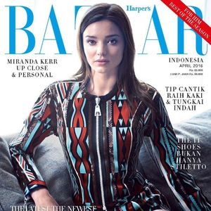 Harper's Bazaar Indonesia edisi April 2016