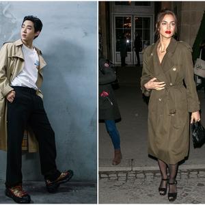 Irina Shayk, Dua Lipa, Baekhyun EXO, hingga Song Weilong Kenakan Trench Coat Rilisan Burberry yang Ikonis
